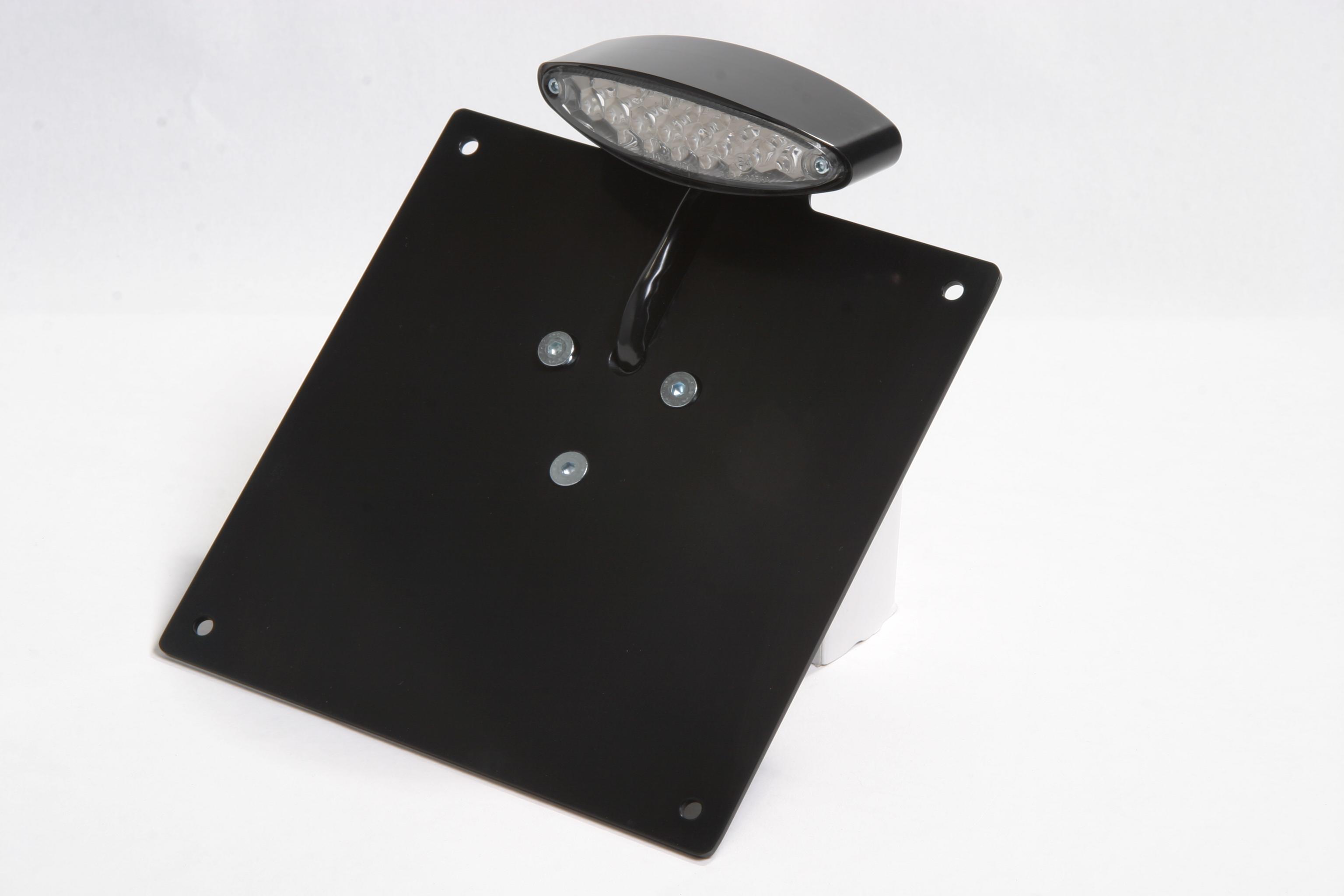 LED Rücklichteinheit-Nummernschildhalter Hochglanz poliert