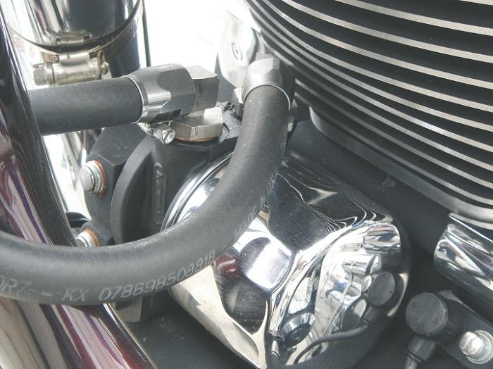 Granaten Style Ölkühlerset Hochglanz poliert für alle Twin Cam Modelle ab Baujahr 2000