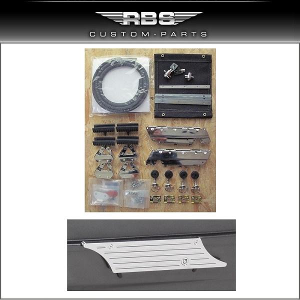 Baggertail Conversion Kit für Evo Softail Modelle ab 1986-2006  mit original Bereifung