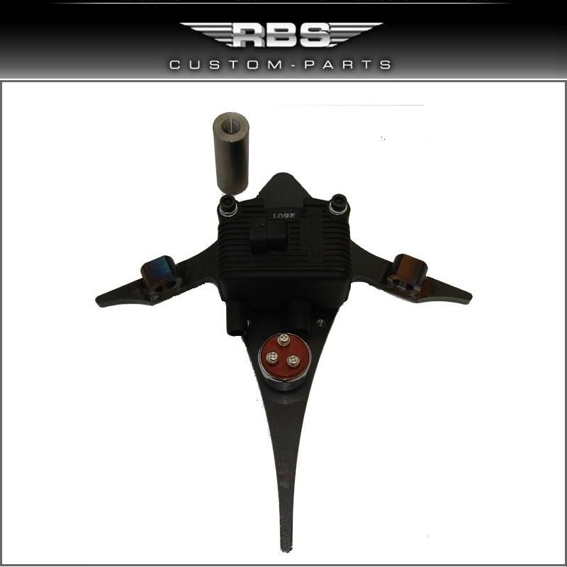 Universal Motorhalter für alle EVO Softail und Twin Cam Modelle