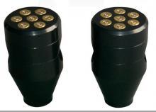 357 Magnum Bullet Style Lenkerhalter 2 1/2