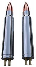 Granaten Style Ölkühlerset Hochglanz poliert für alle EVO Softail Modelle bis Baujahr 1999