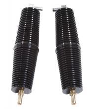 Ölkühlerpaar 200mm lang für alle XL-FX-FLH Modelle hochglanz schwarz eloxiert