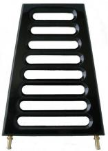 RBS Flachölkühler 29mm Rahmendurchmesser EVO Softail bis Baujahr 1999 hochglanz schwarz beschichtet