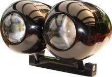 Ellipsoid Scheinwerfer Paar inkl. Lampenhalter