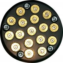 357 Magnum Bullet Style Zündungsdeckel Softail Twin Cam ab Baujahr 2000 hochglanz schwarz eloxiert