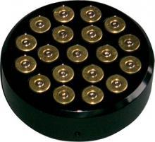 357 Magnum Bullet StyleTankdeckel Cover  hochglanz schwarz eloxiert