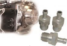 RBS Ölleitungsanschlüsse fürTwin Cam Motoren Aluminium eloxiert