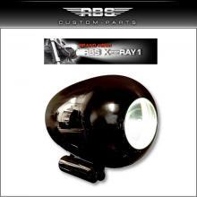 Xenon RAY 1 Scheinwerfer Kit Hochglanz schwarz eloxiert