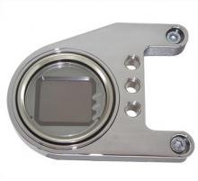 RBS LCD Mini Digital Tachoeinheit für Rockerbox-Zylinderkopf Montage poliert