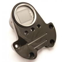 Mini Digital Tachoeinheit mit Lenkerklemme hochglanz schwarz eloxiert